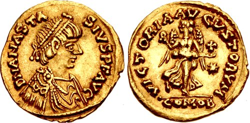CNG: Feature Auction CNG 111  OSTROGOTHS  Theoderic  As king