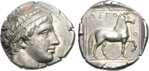 77000105 Rare Aeropos Tetradrachm from Hunt