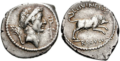 CNG: The Coin Shop  Julius Caesar  42 BC  AR Denarius (19mm, 3 98 g