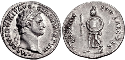 CNG: Feature Auction CNG 84  Domitian  AD 81-96  AR Denarius