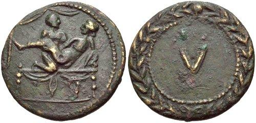 Erotic coins
