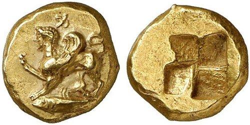 Cng: printed auction nomos 1. mysia, kyzikos. circa 480-450 .